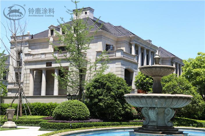 别墅 多层/高层住宅  涂装效果仿石系统-花岗岩效果